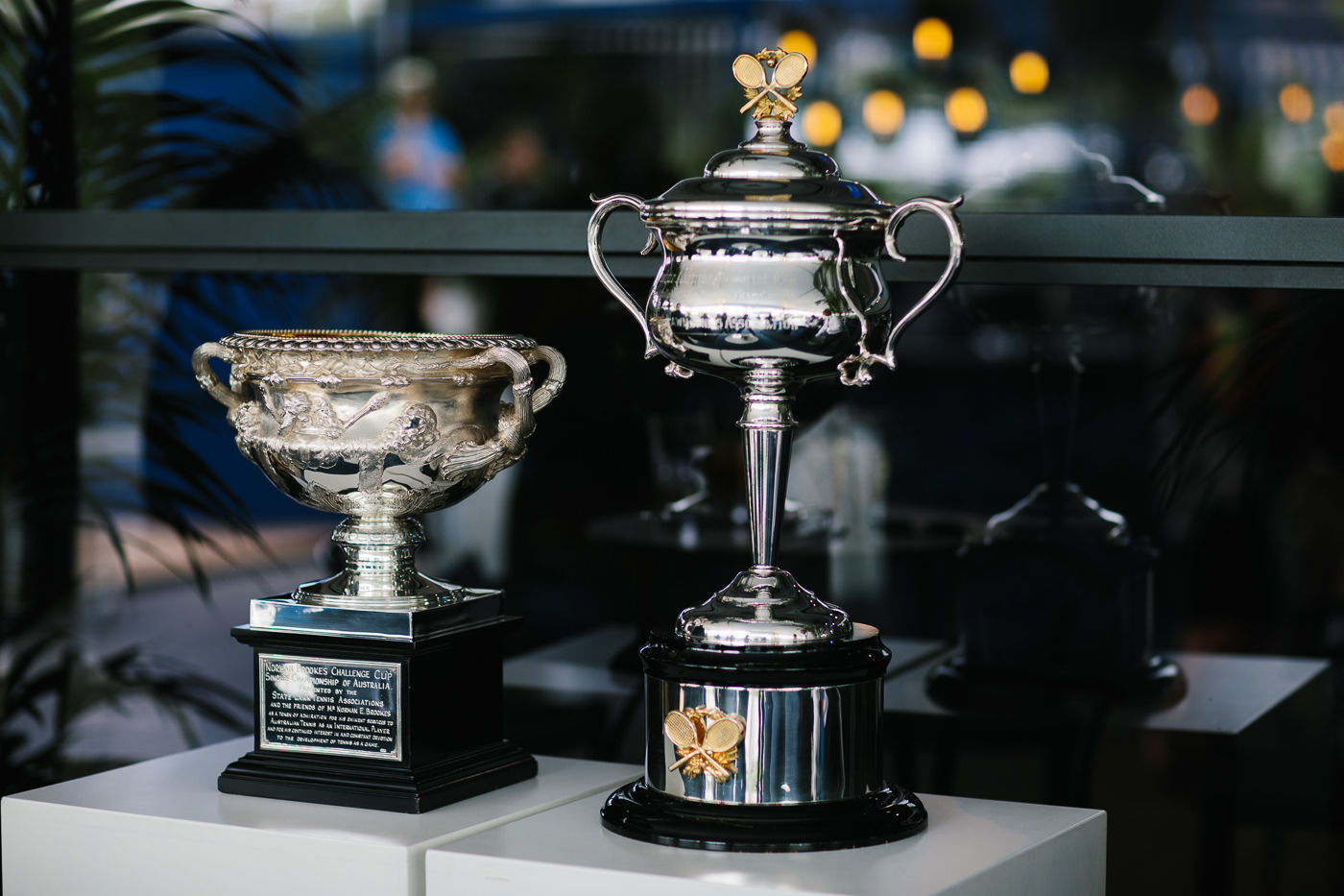 australian open trophy - best photo
