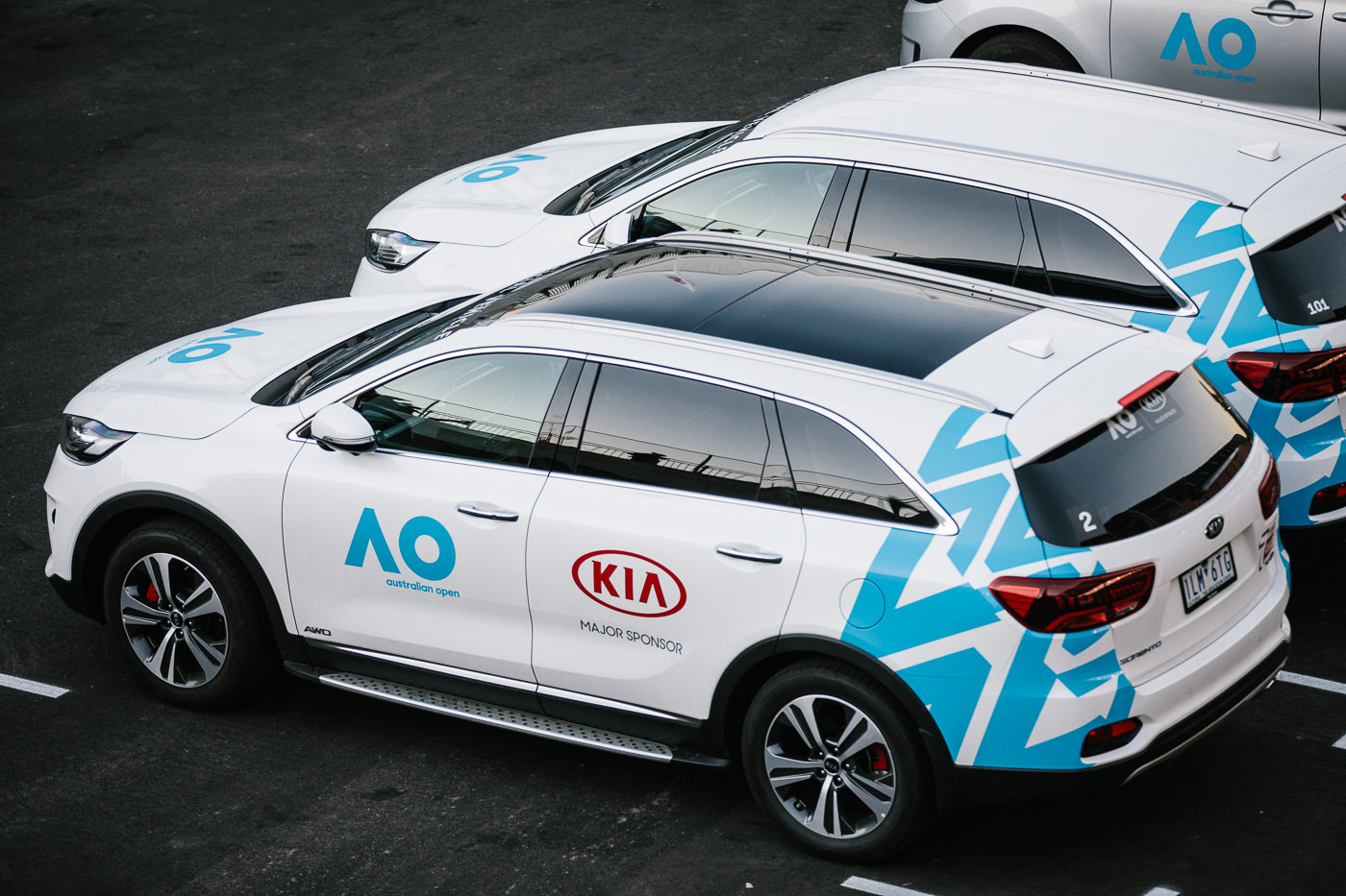 Australian Open Sposor Kia - PR Photos - Kia cars