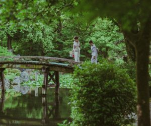 Japanese Garden - Geisha - Marie Kondo Madness