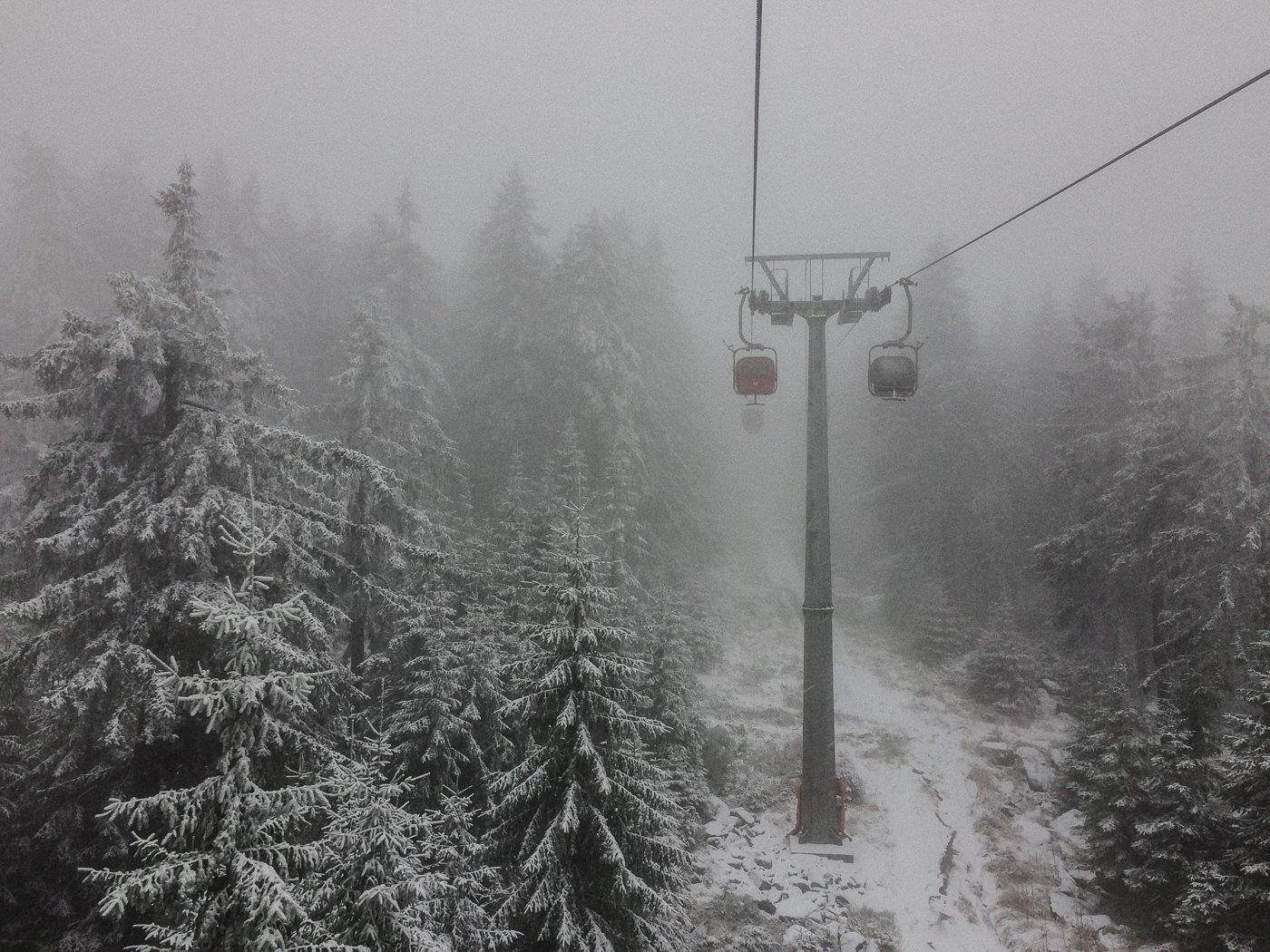 lift in fog