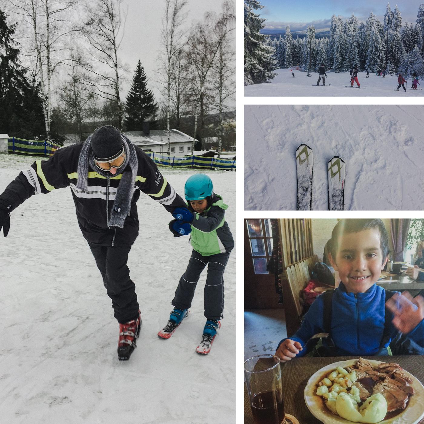 fun skiing on Ochsenkopf - not in Australia