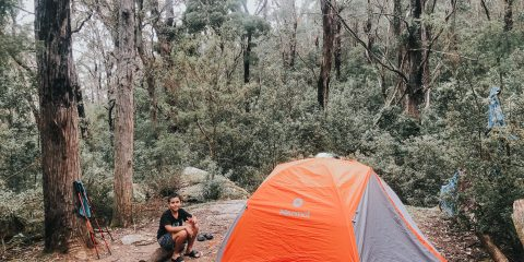 Family Adventure at Roaring Meg - Camping and Hiking with Kids - Outdoor Adventures - Tent