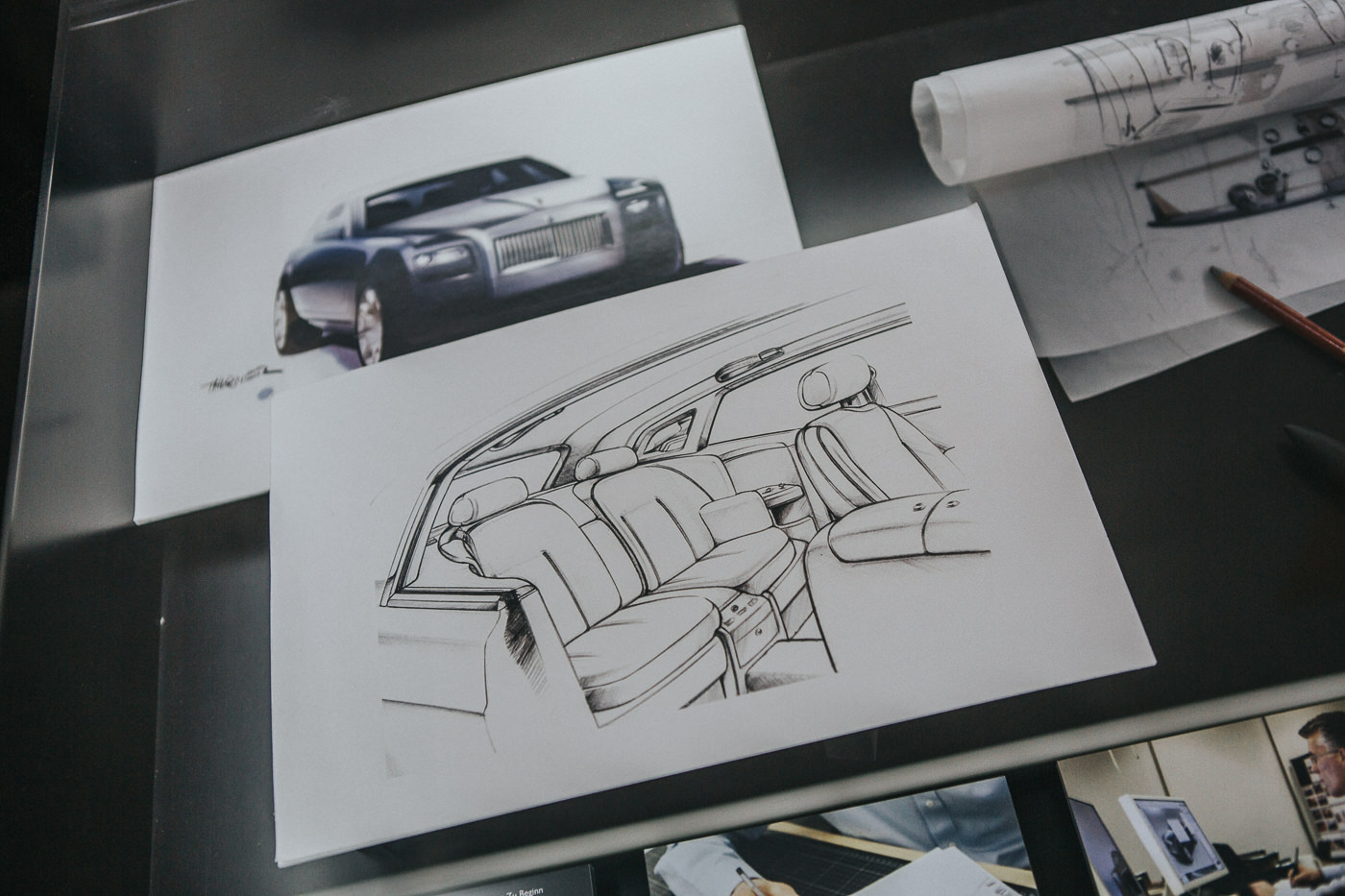 Rolls Royce Phantom Design Schematics