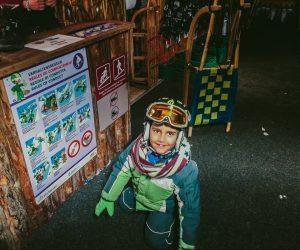 Night Adventure - Tobogganing at snow storm in Switzerland - a memorable adventure - Travel experiences