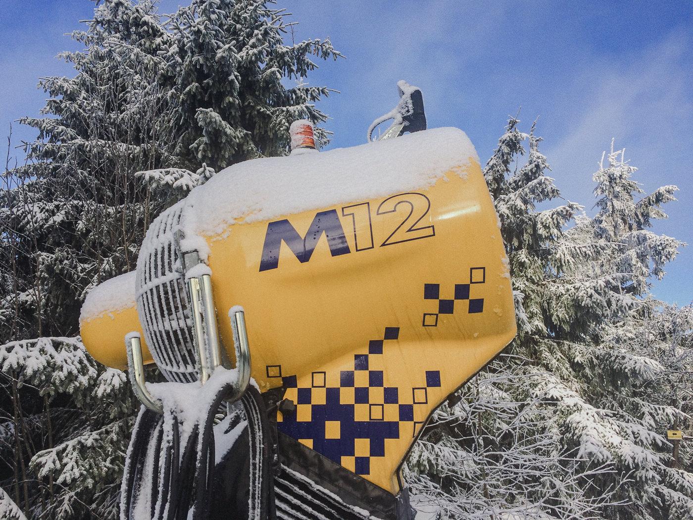 M12 snow cannon