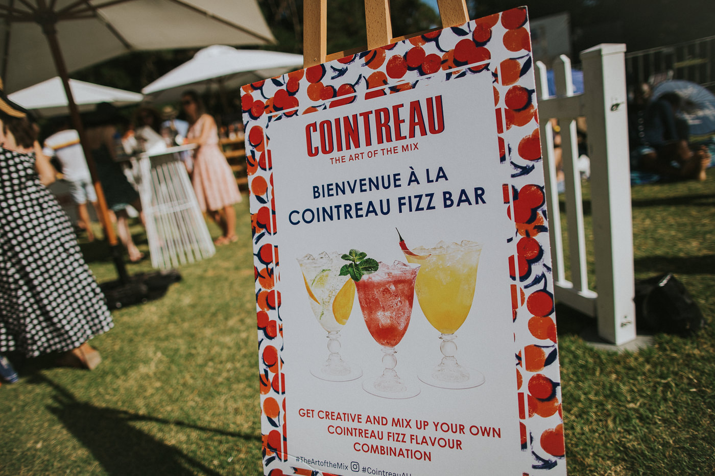 cointreau sponsorship at so frenchy so chic in melbourne