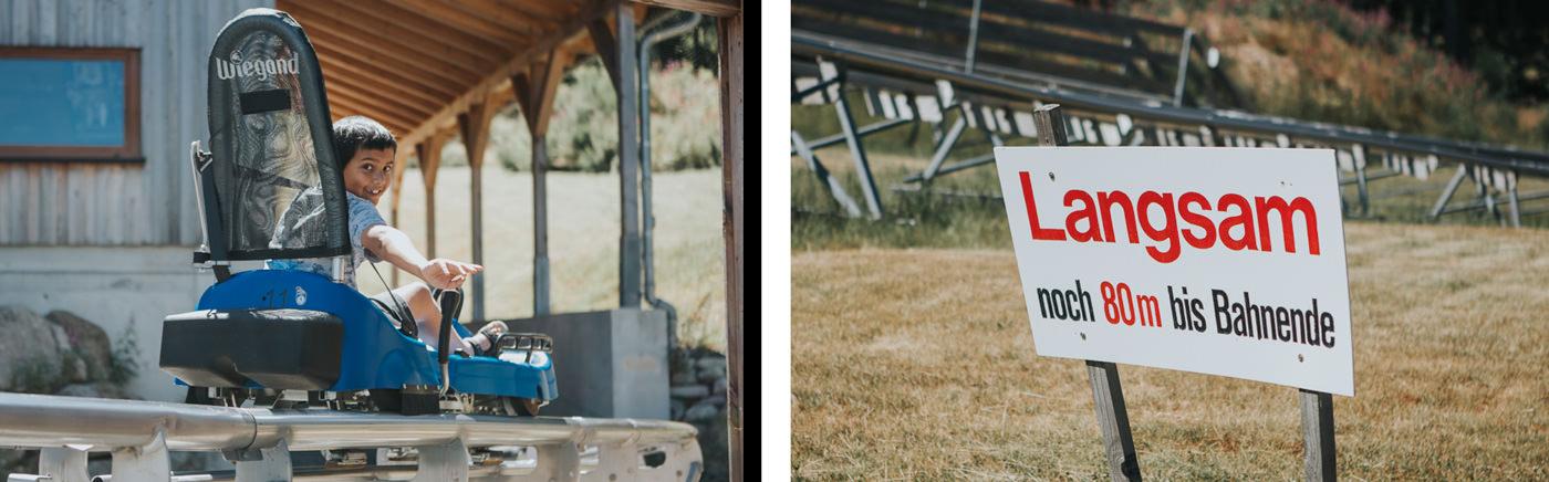 summer adventures - sommerrodelbahn sled