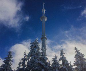 On top of Ochsenkpopf - Alien Antenna - Consirancy