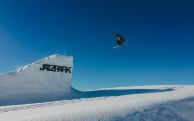 trickski jumps in davos - best snowboarding park