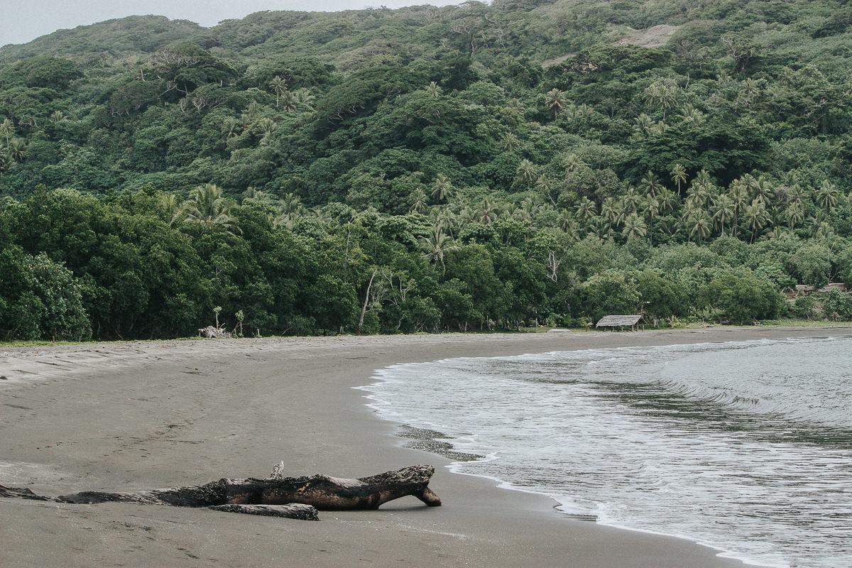 volcanic beach