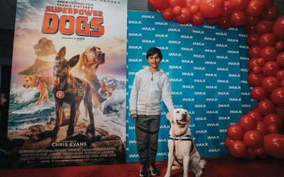 Imax Superpowerdogs - Movie Premiere