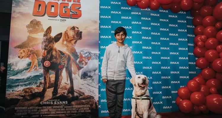 Imax Superpowerdogs - Movie Premiere