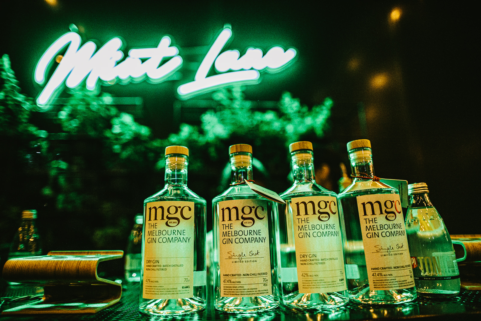 mint lane with mgc gin