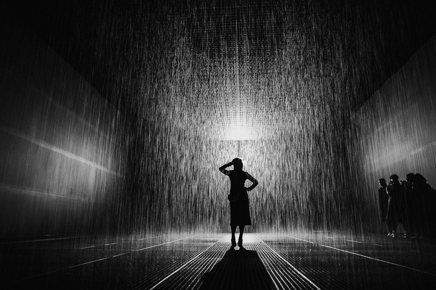 Rain Room in St Kilda Melbourne