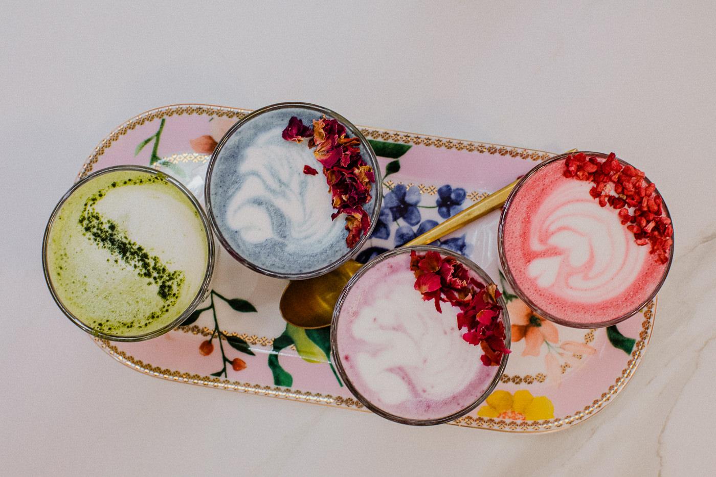 wellness latte - liquid breakfast - instagrammable cafe in Melbourne