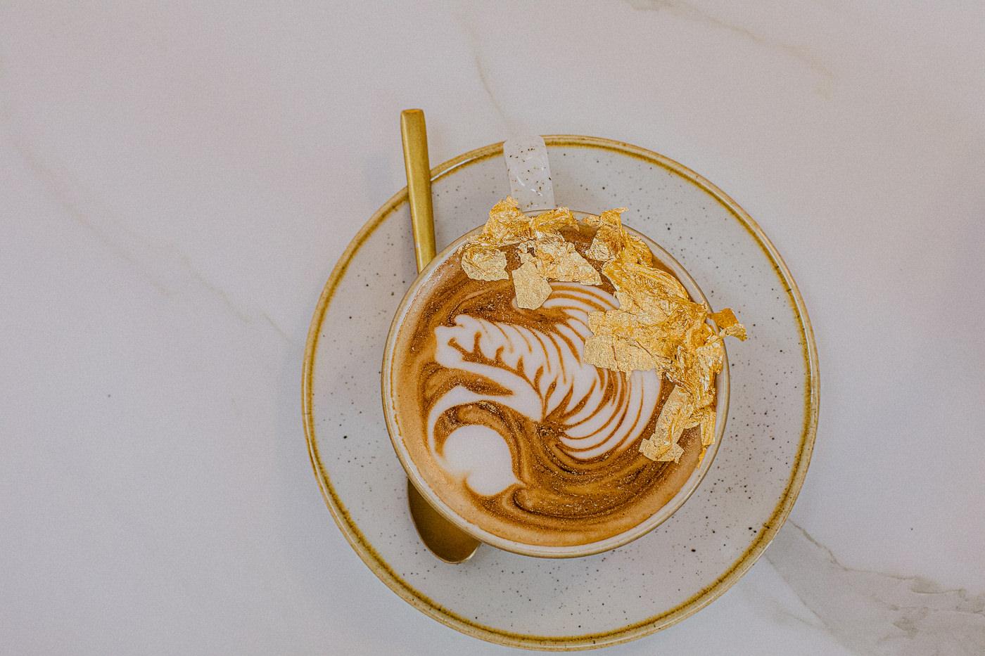24K Gold Cafe - edible gold