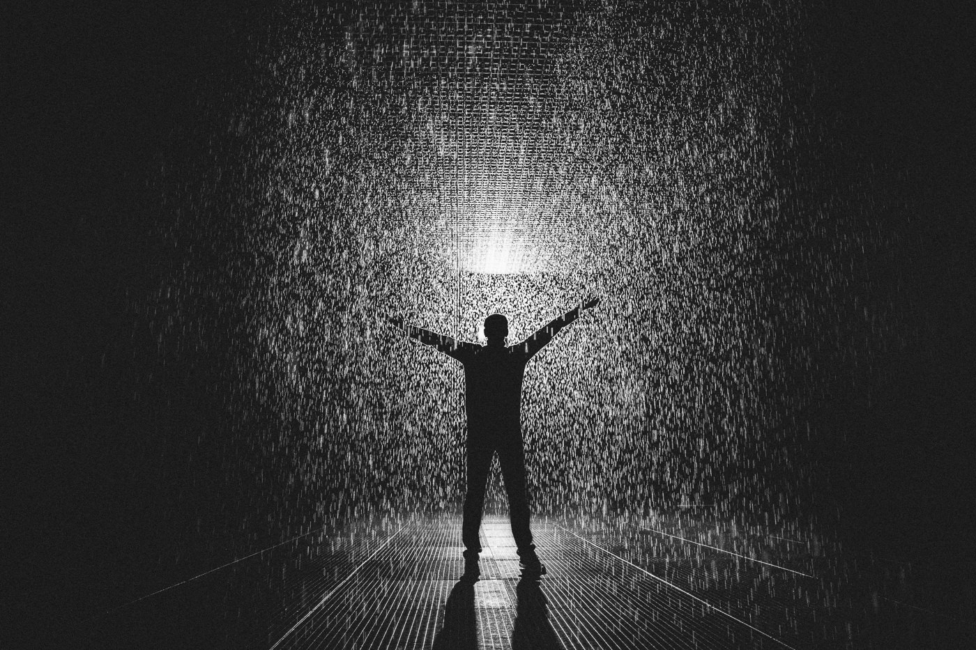 having fun in the rain room melbourne