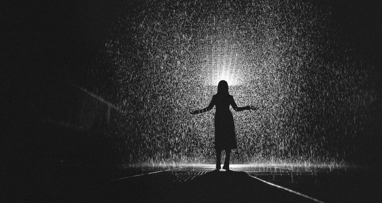 rain room in Melbourne