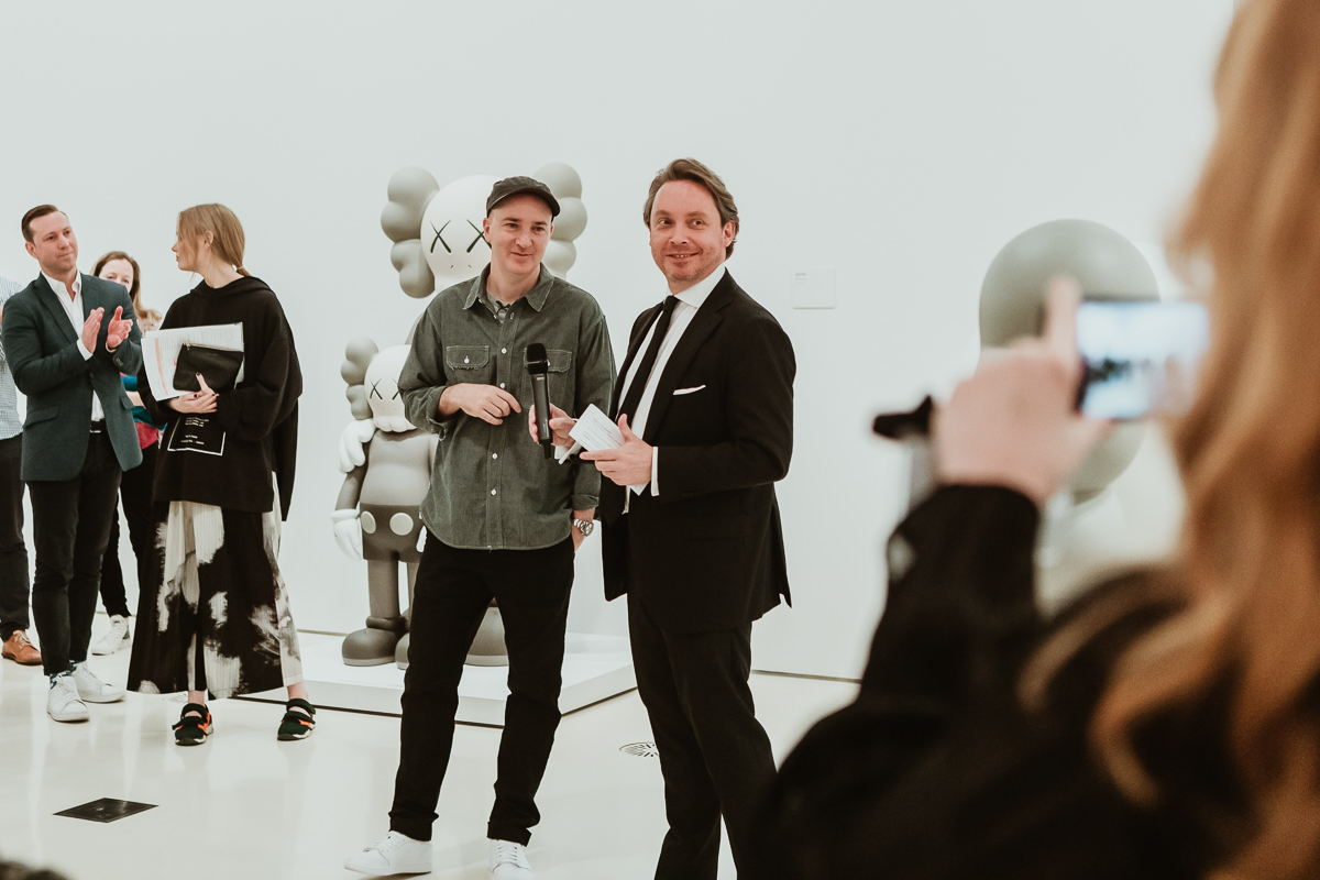 KAWS at the NGV - Media Presentation