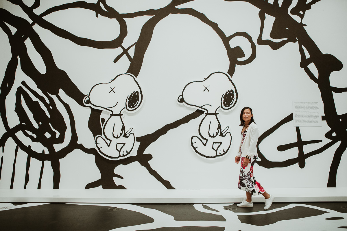 KAWS at the NGV Melbourne