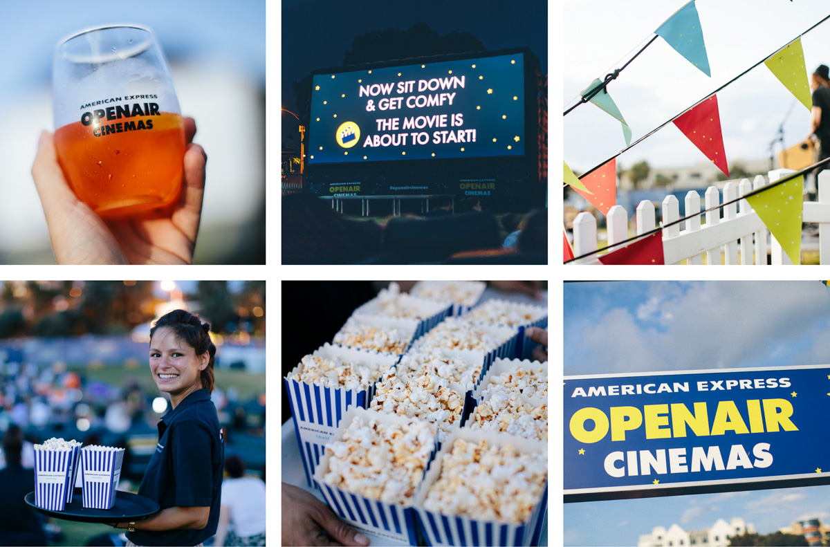 American Express Openair Cinema at Yarra Park in Melbourne - What's on