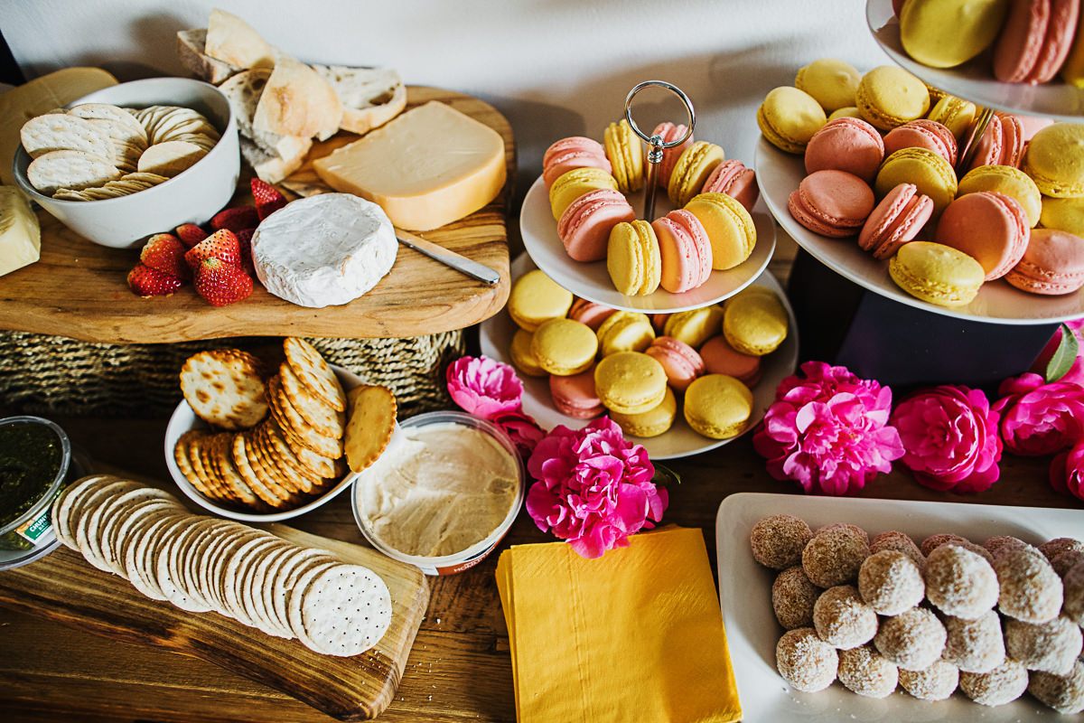 macarons and desserts