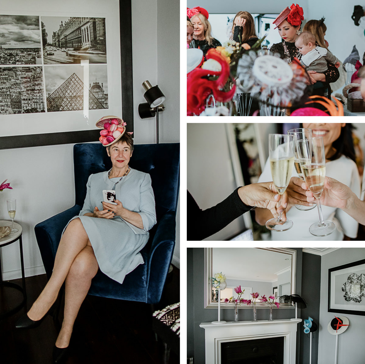 relaxed event - millinery showcase