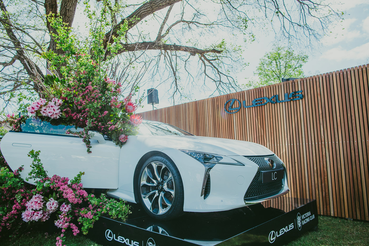 Lexus car - sponsor of the Melbourne Cup