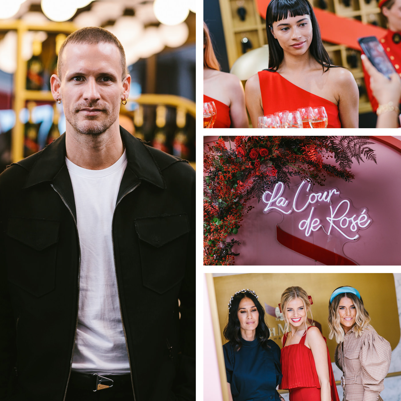 dion lee x mumm 2019 birdcage marquee - photos of the marquee
