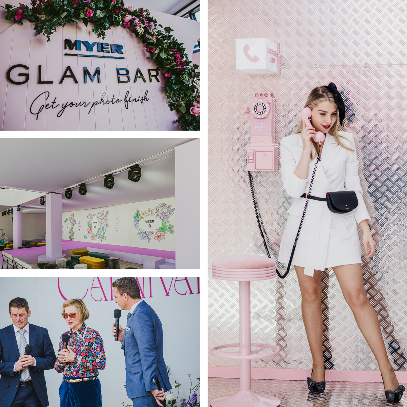 Myer Fashions on the Field 2019 and Glam Bar