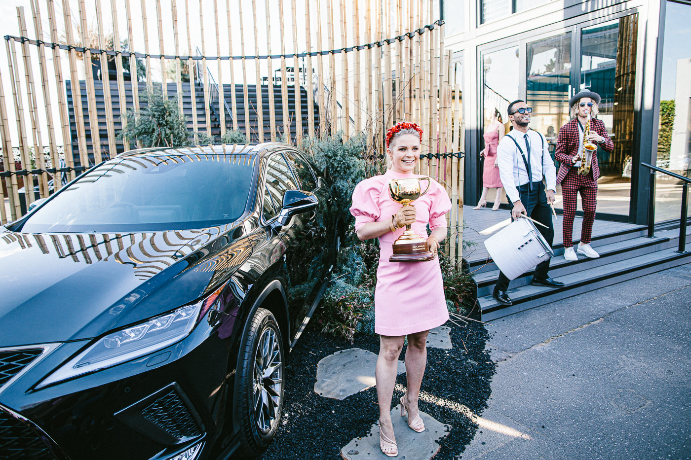 Principal Sponsor Lexus -m Marquee in the Birdcage