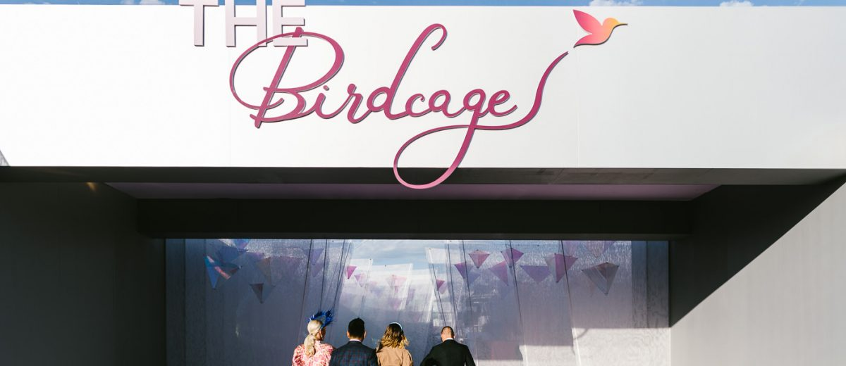 A walk through the Birdcage at the 2019 Melbourne Cup - entrance