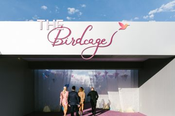 A walk through the Birdcage at the 2019 Melbourne Cup - entrance