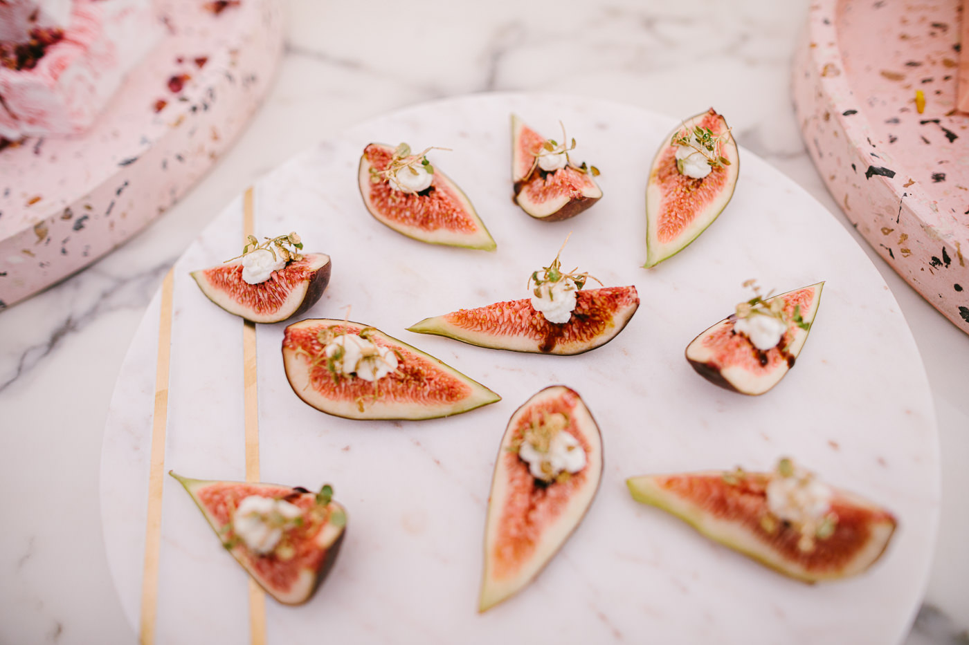 luxury snacks in the birdcage - food style