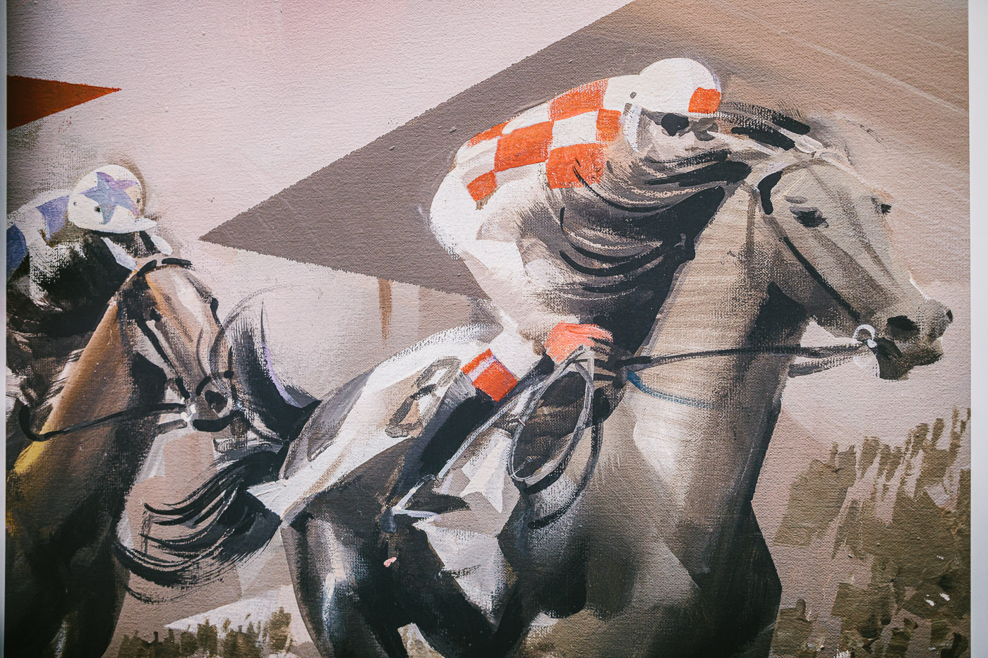 Billich Art - Horse racing