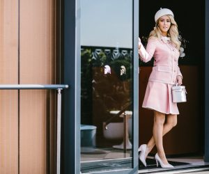 Kennedy Marquee - Jaimee Belle Kennedy in the Birdcage 50s style outfit