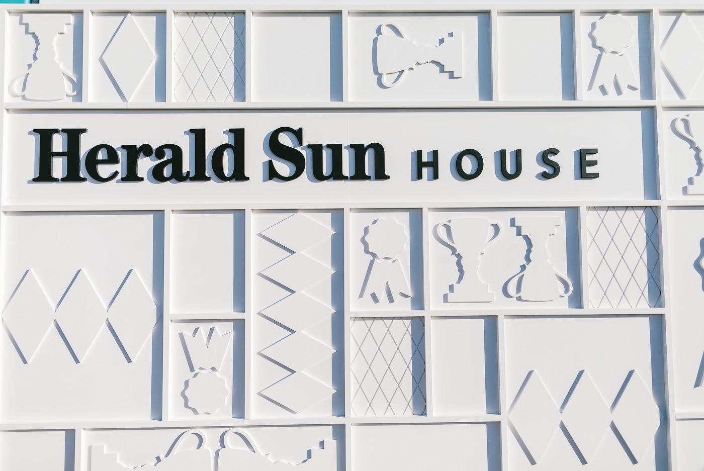 herald sun house facade