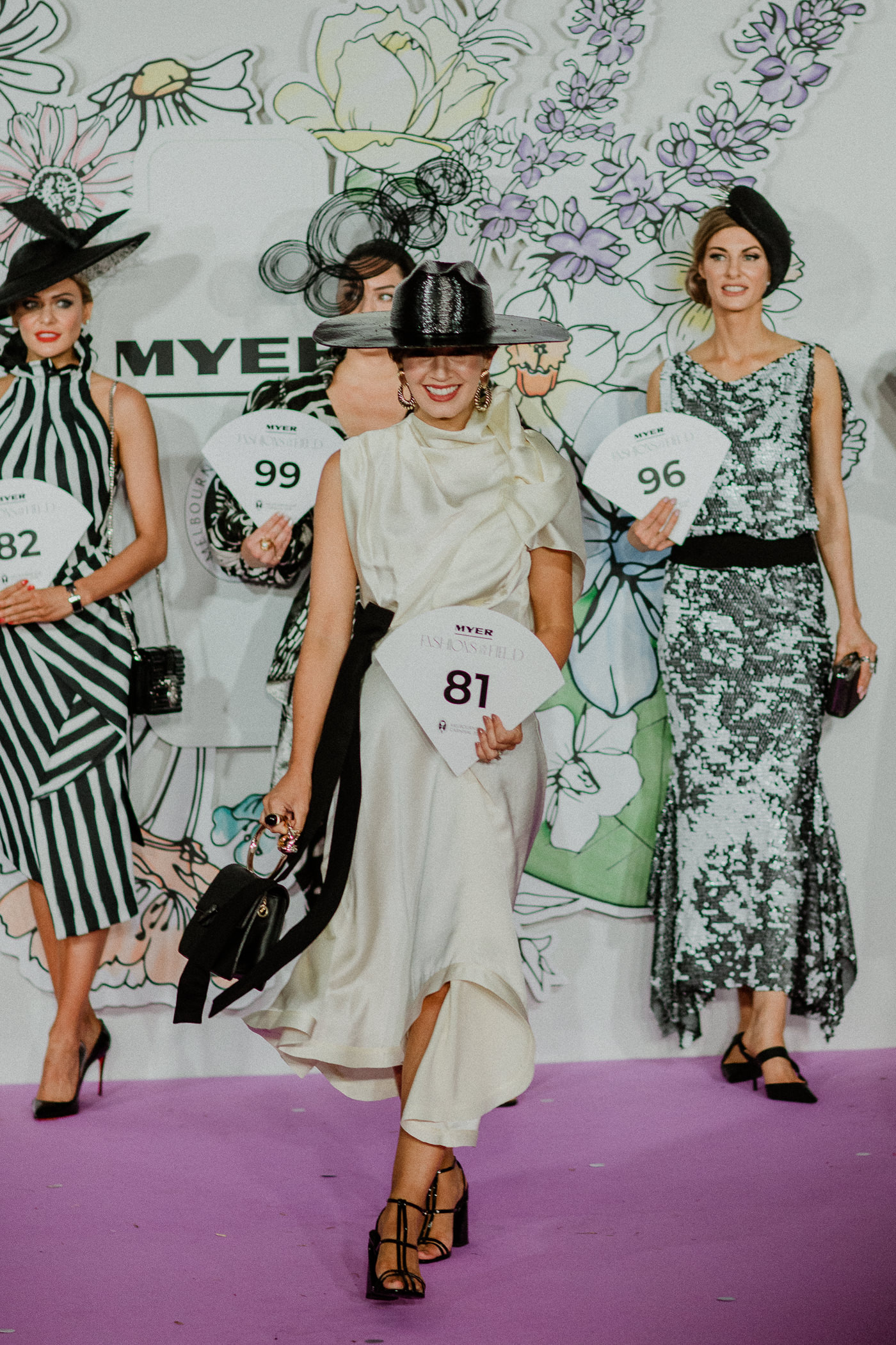 2nd runner up - FTOF Fashion winner - stylish derby day outfit