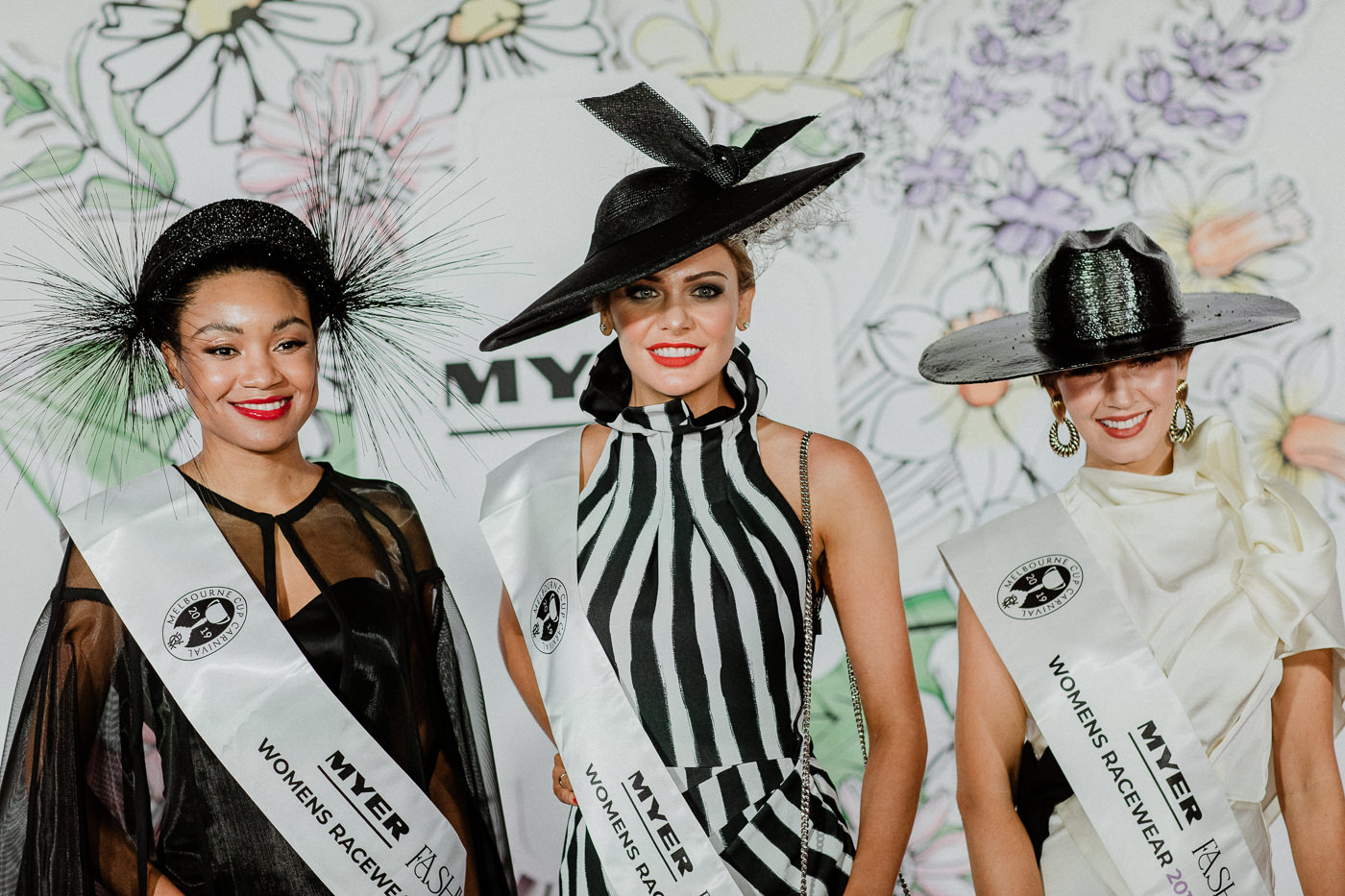 the fashion winners of derby day 2019 at the Melbourne Spring Racing Carnival