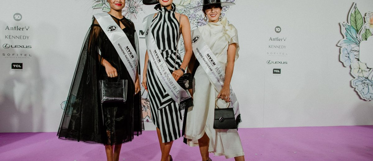 Derby Day Fashions on the Field Winners 2019 - Myer FTOF Winners 2019