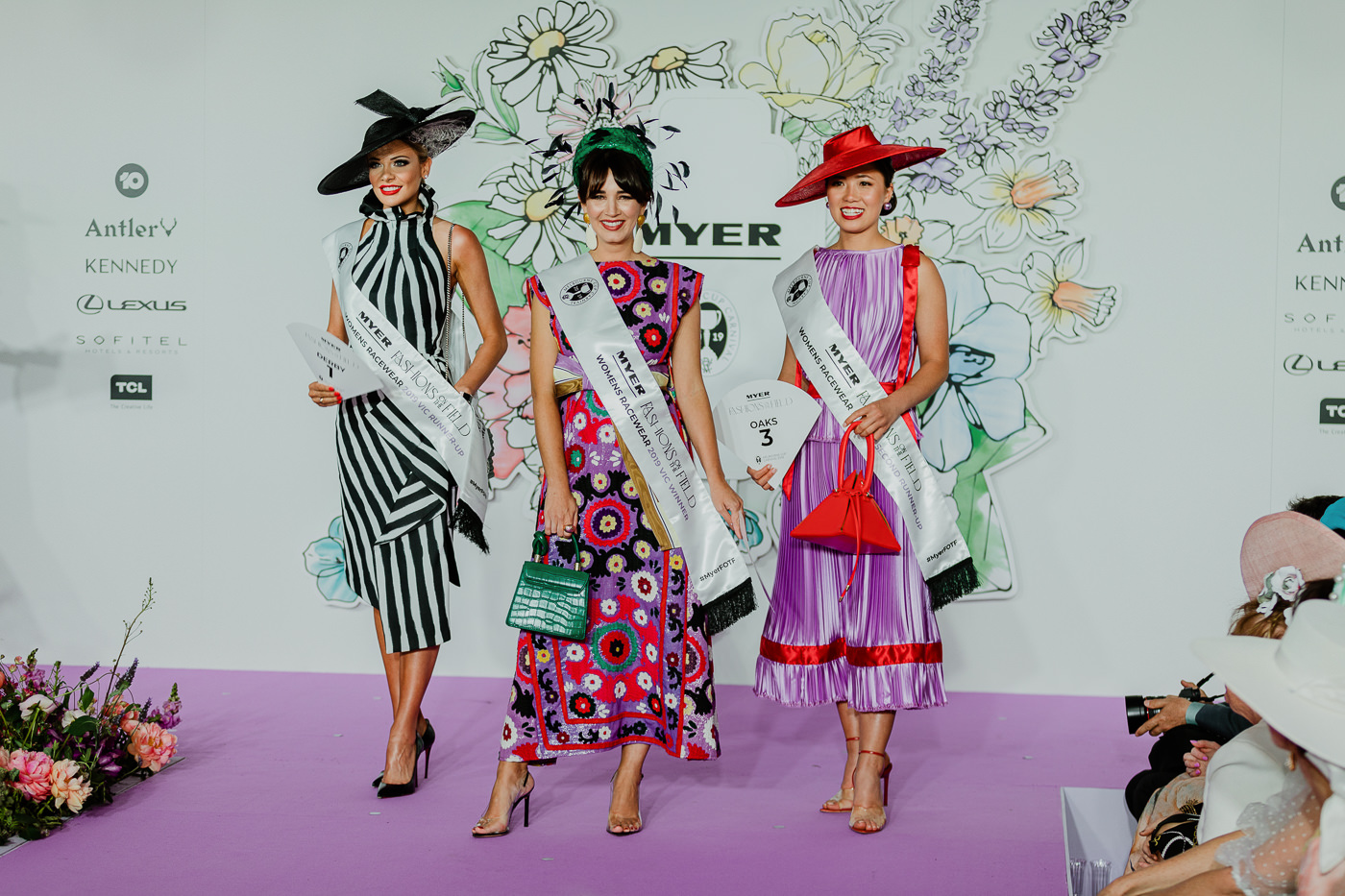 Victorian Finalists Oaks Day Fashions on the Field