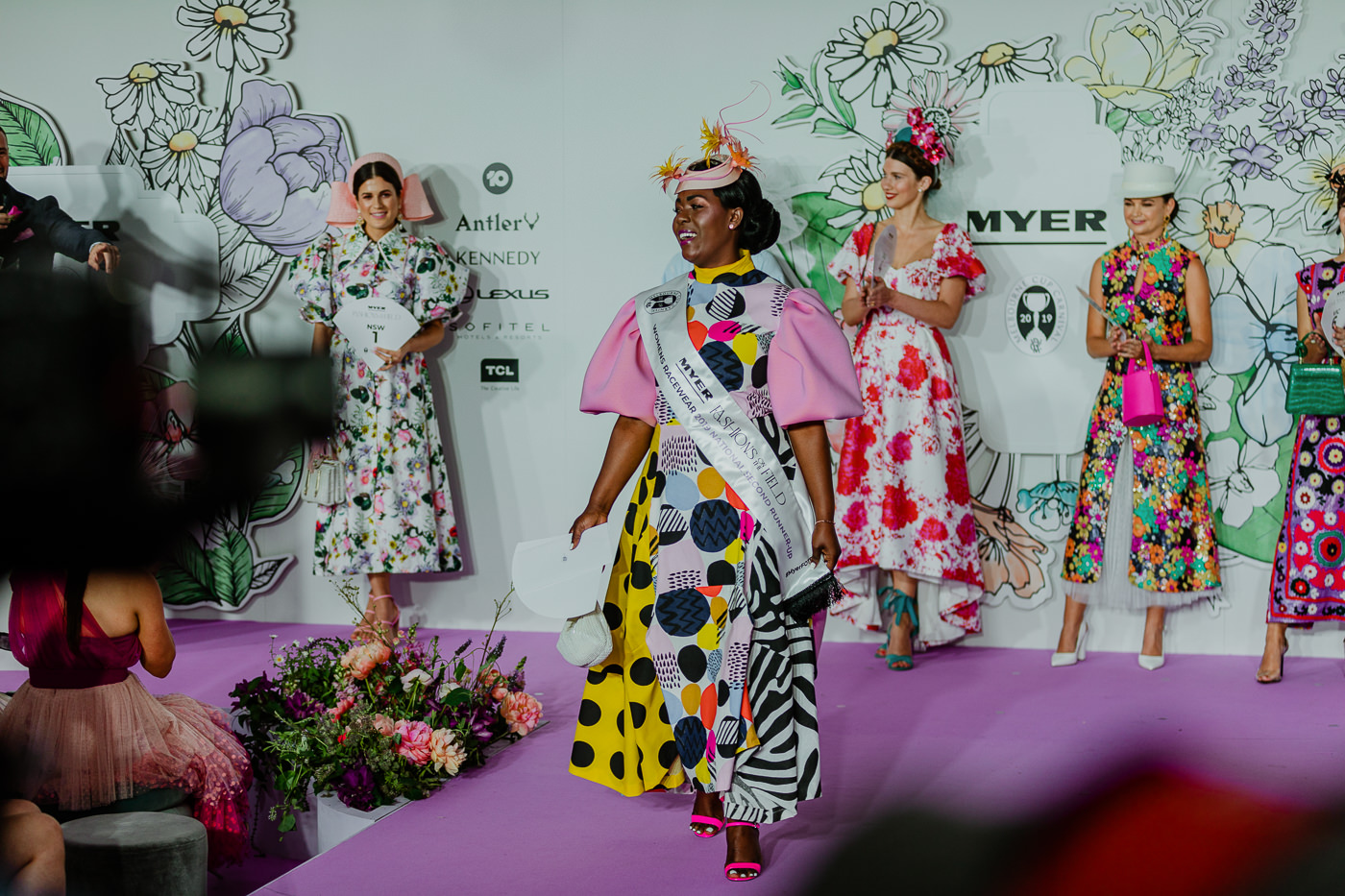 Fashions on the Field Contestants 2019 FTOF