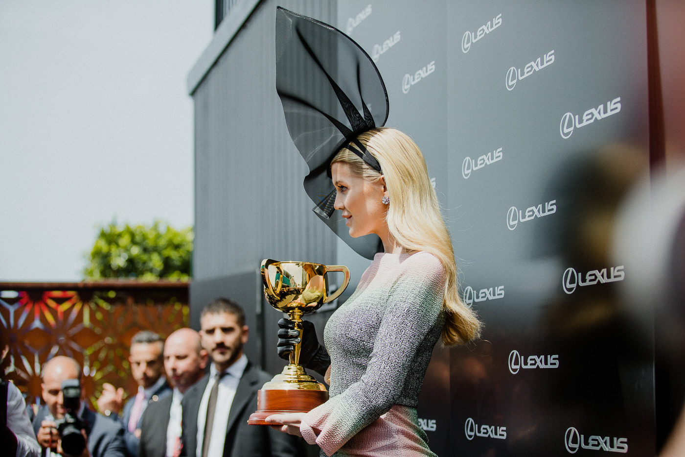 Lady Kitty Spencer - at Media Wall at lexus Marquee at the Melbourne Cup