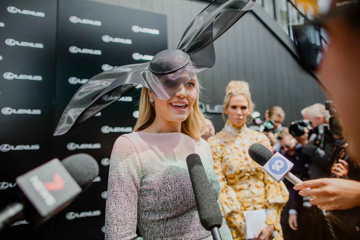 Celebrities at Melbourne Cup
