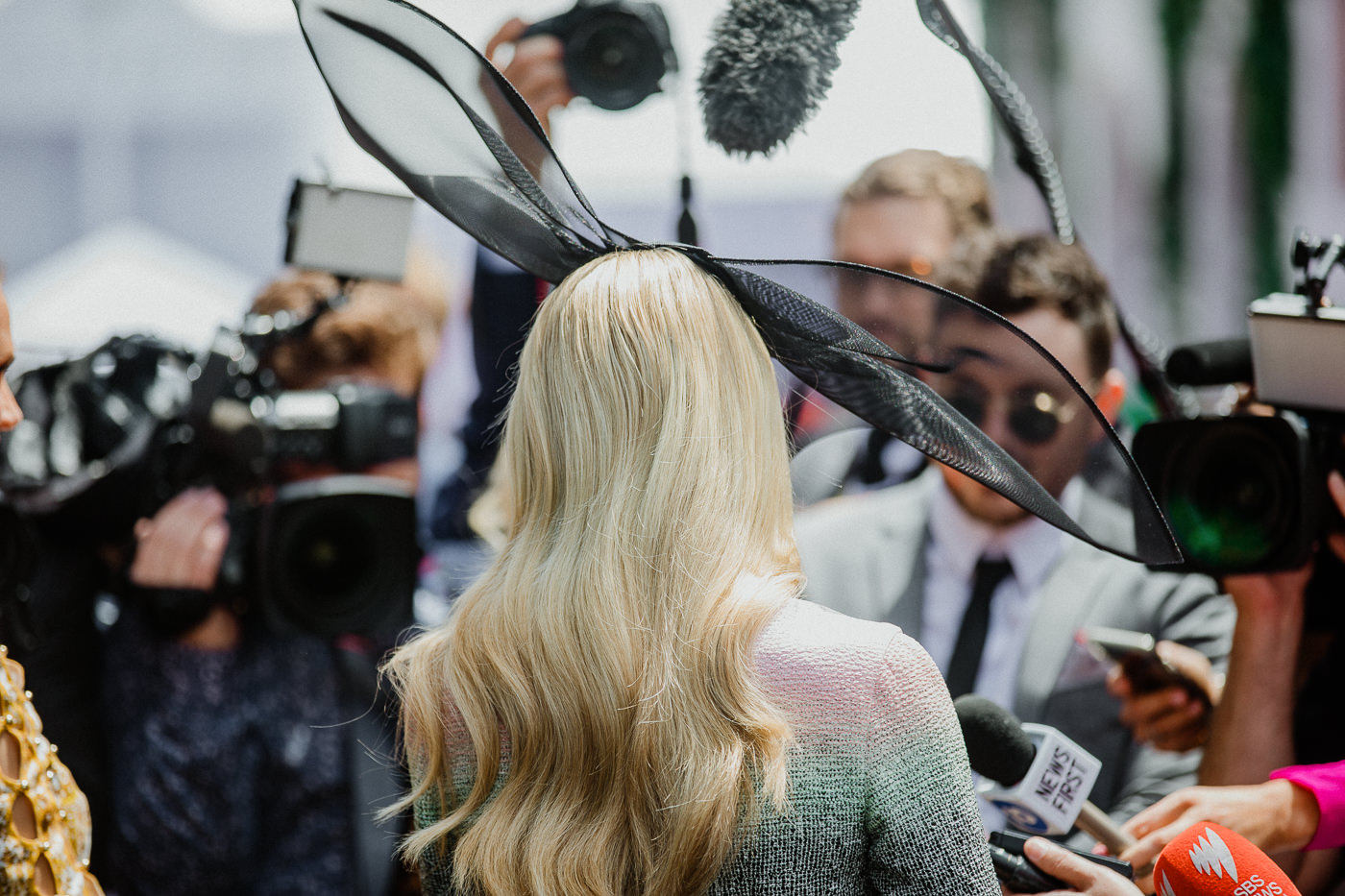 Celebrity at Photography at the Melbourne Cup