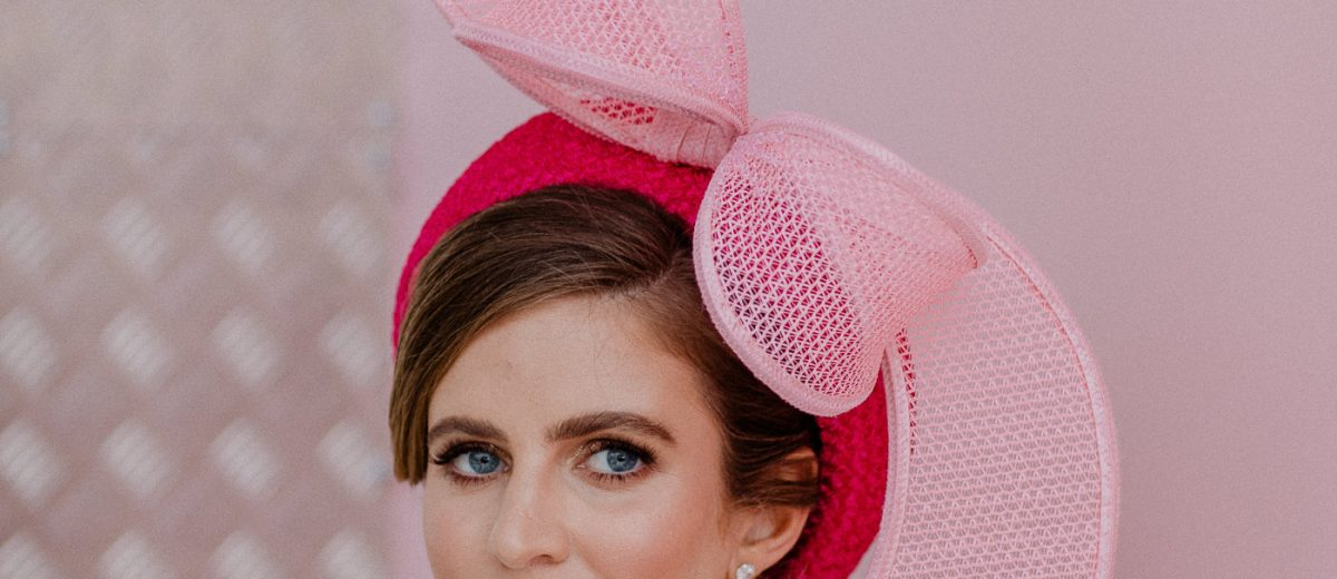 Rebecca Share inspired - millinery at the races