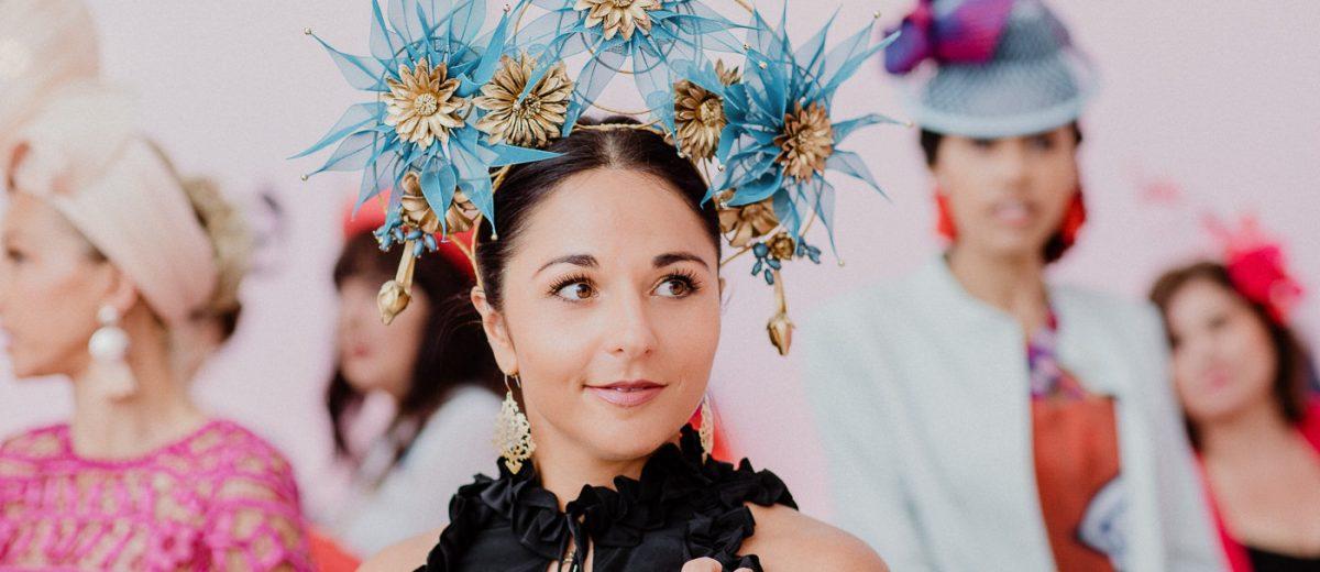 Blue Fireworks/Flower creation - Fashion inspo