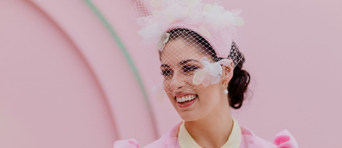 Veil - pink - Melbourne Cup Racewear - style your outfit t o win the fashions - ideas and trends