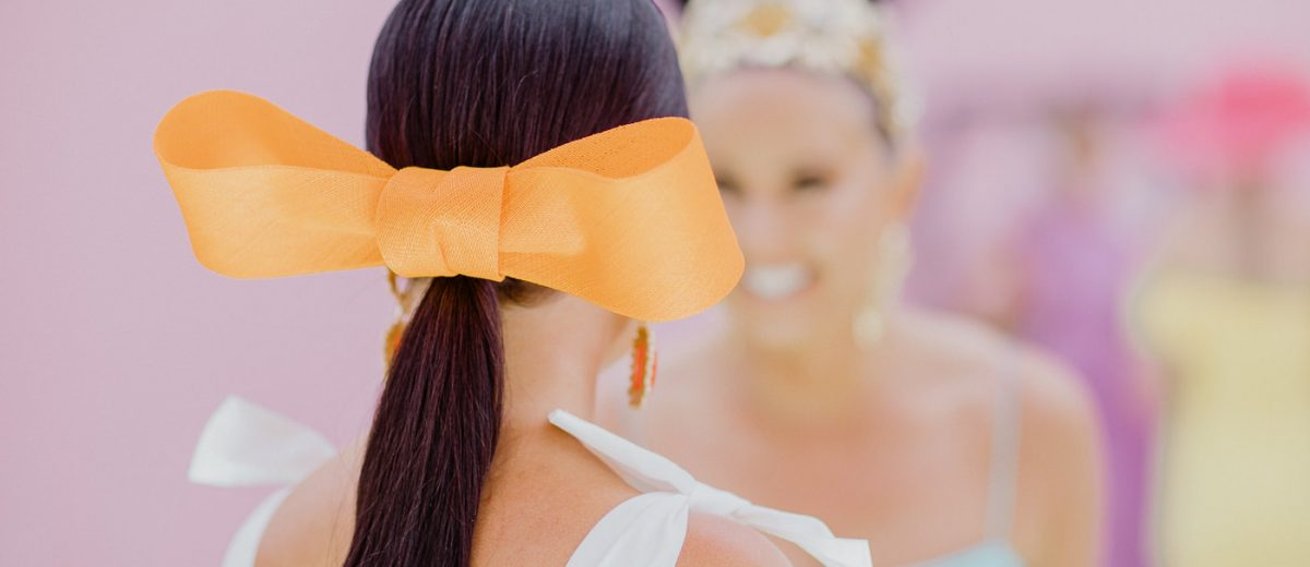 yellow bow - simple millinery trends - Fashion Trends from Melbourne