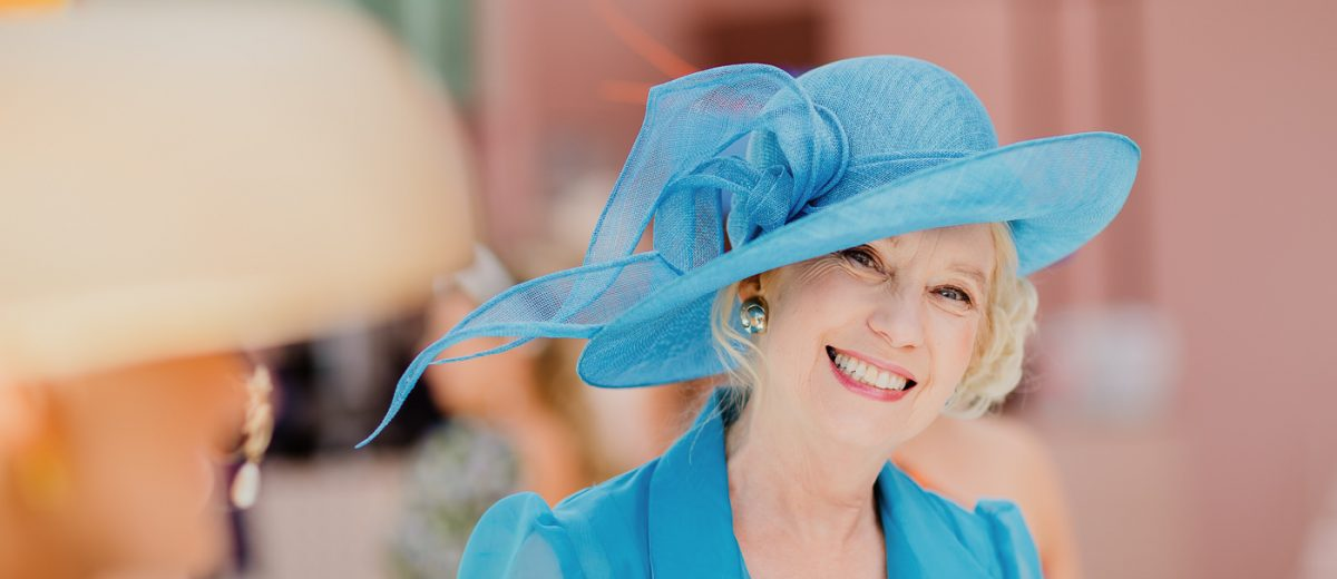 Blue race wear - fashion inspioration for the melbourne cup